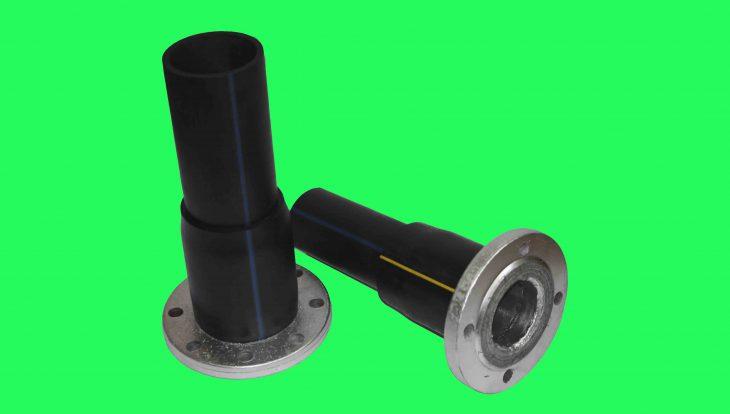 Фланцевое неразъемное соединение ПЭ-сталь  для воды